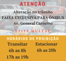 MUDAN�AS NO TRANSITO